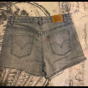 Levis shorts for girls
